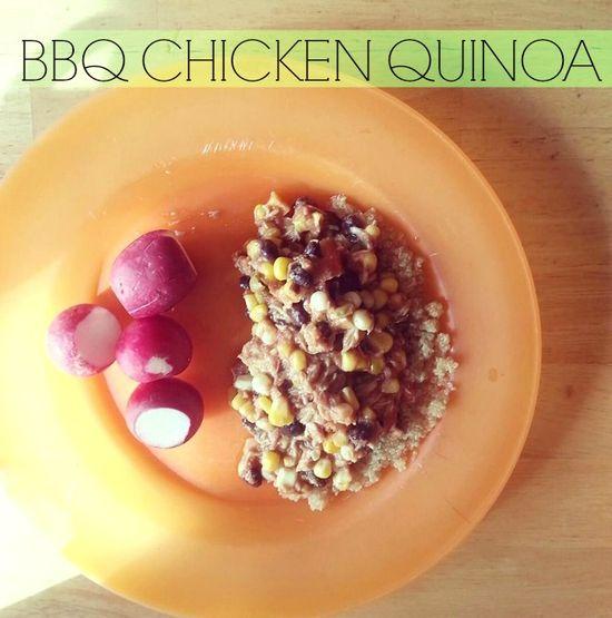 BBQ CHICKEN QUINOA – RECIPE SUBMISSION