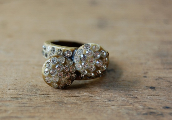vintage ring / 1940s jewelry