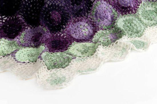 Crochet Pattern Blueberry Blanket  PDF Instant by SweetCrocheterie, $7.00
