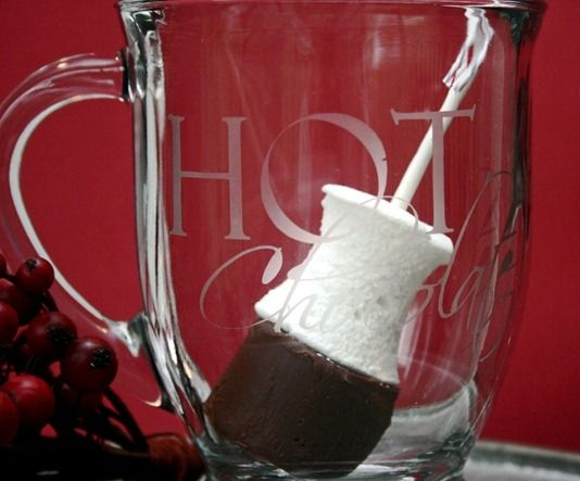 Hot Chocolate on a Stick!! I definitely need to try this one.