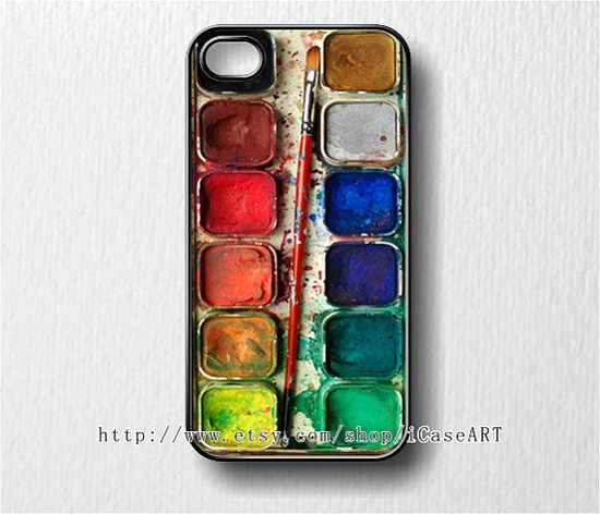 Probably one of the coolest phone cases in history of phone caes. iphone 4 case iphone 4s case iphone case  Watercolor by iCaseART, $7.99