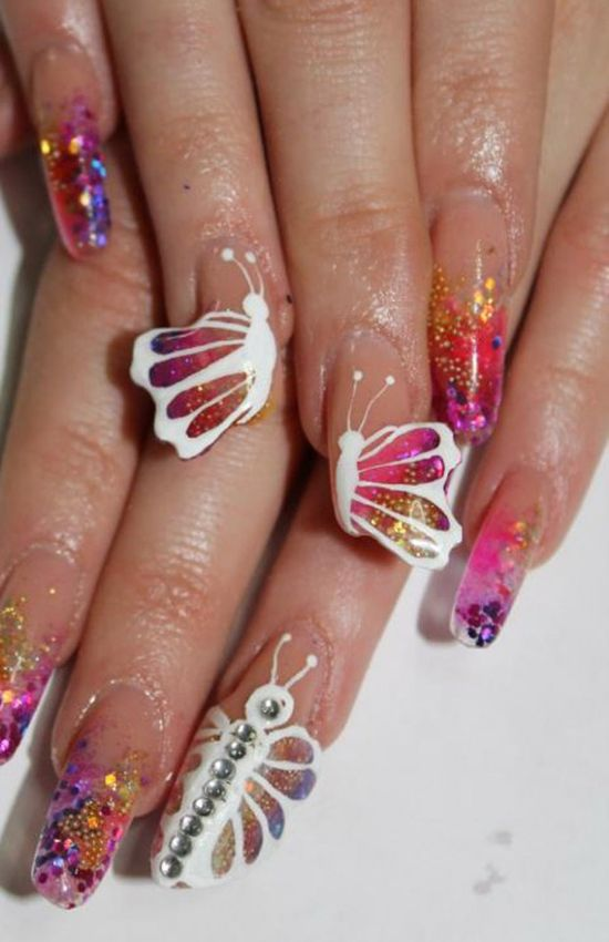 LUV IT!!!!!!!36 Beautiful Modern Nails With Bombastic Design
