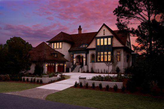 """English Angel"" - The 2012 BALA Home of the Year.  Architect: Wayne Windham.  Builder: Buffington Homes.  Interior Designer: Kathryn McGowan.  Photographer: Dickson Dunlap."