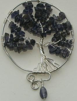 tree of life pendant #DIY