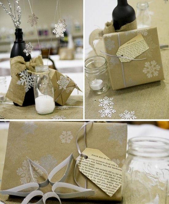 DIY Gift tags from Book Pages!