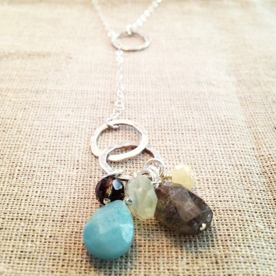 Handmade jewelry - sterling silver // @shopisabelle