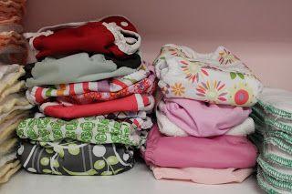 All Four Love: Newborn Cloth Update