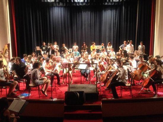 l'orchestra giovanil