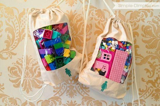 Window Toy Bag Tutorial