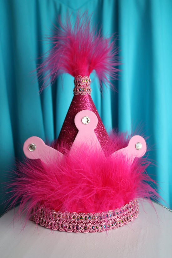 Princess Birthday Party Hat Idea