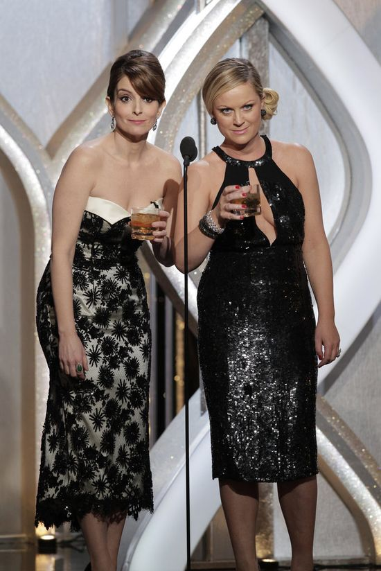 Tina and Amy's funniest Golden Globe moments!