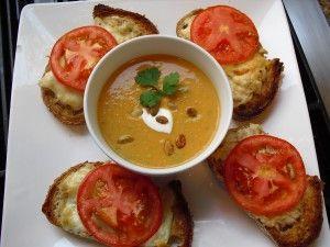 Pumpkin Ginger Soup Recipe