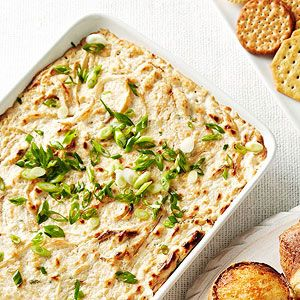 Warm Crab Dip from familycircle.com #myplate #seafood