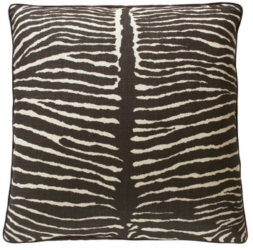 Hollywood Luxe Zebra Pillow More Luxury Hollywood Interior Design Inspirations To Pin, Share & Inspire @ InStyle-Decor.com Beverly Hills (Use Our Red Pinterest Speed     Pin Button Top Of Each Page Happy Pinning)