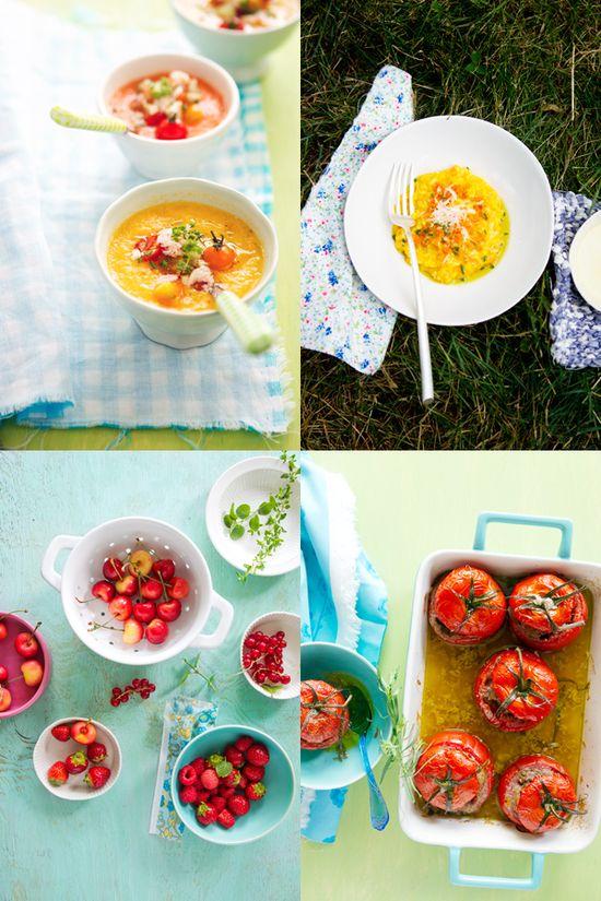 Risotto–Stuffed Tomatoes