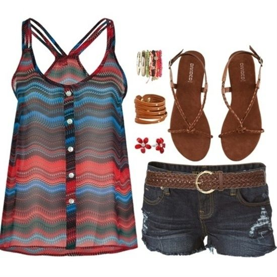(: love this! #cute summer outfits #summer clothes style