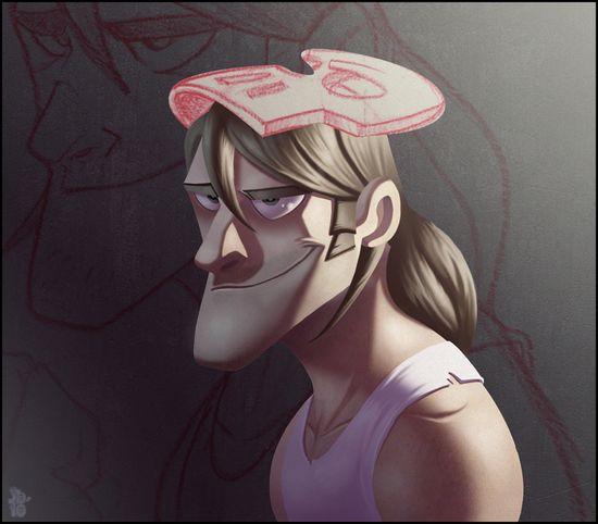3D Man Character #character #3D