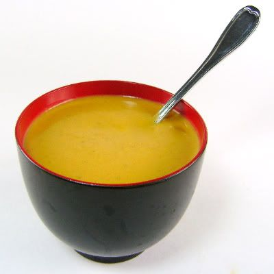 One Perfect Bite: Peanut and Pumpkin Soup