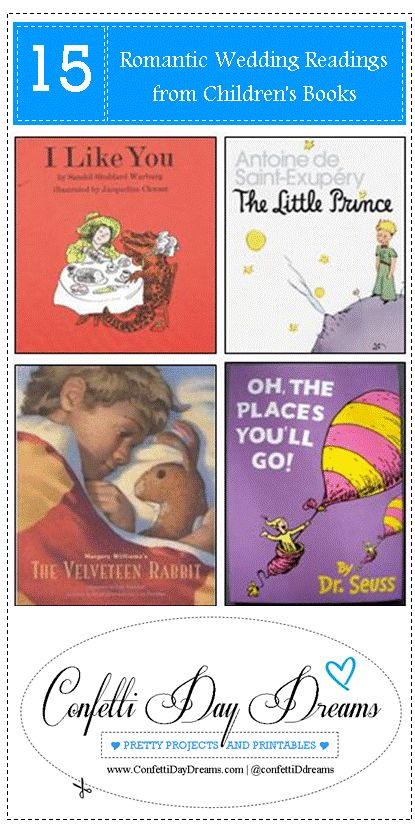 15 Romantic Readings from Childrens Books
