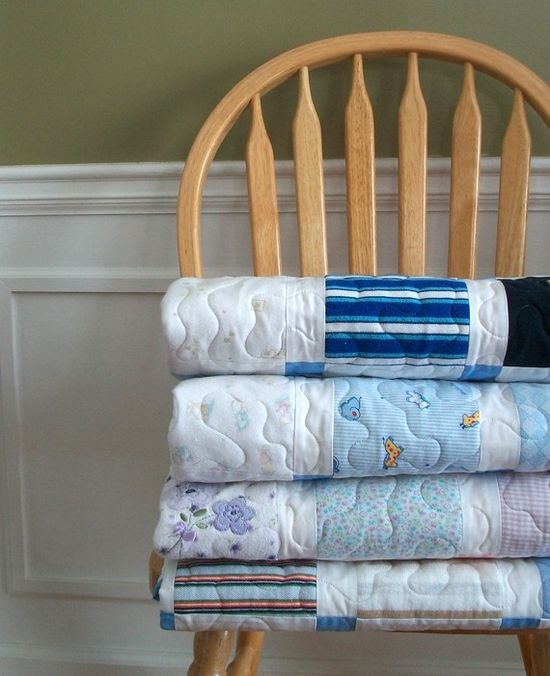 Turn all those adorable onesies into a quilt they can pass on to their own kids. #EtsyCustom