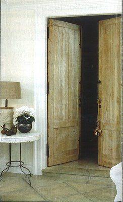 i love old doors!
