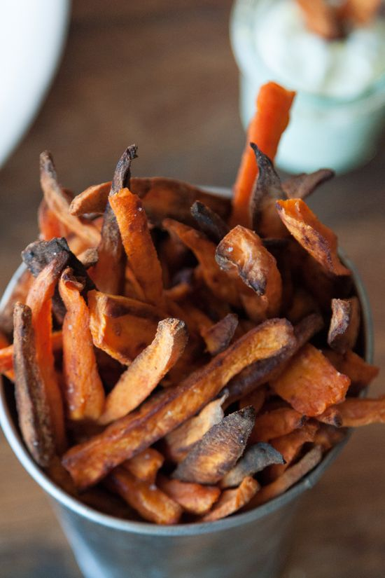 Chipotle Sweet Potato Fries - What's Gaby Cooking