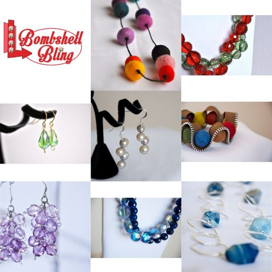 Save 30% off of beautiful handmade jewelry using a Small Business Saturday coupon code!