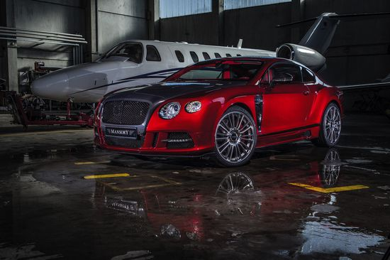 Mansory customises the Bentley Continental GT as a luxury widebody