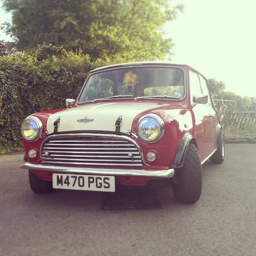Mini Cooper in UK