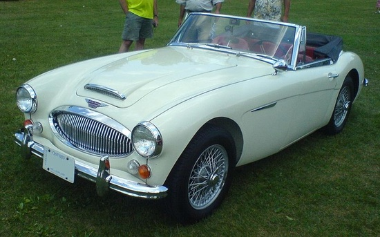 Austin Healey 3000 - British sports cars don't get much better than this!