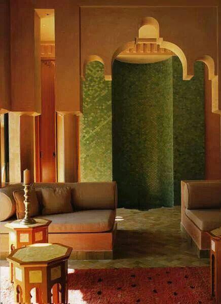 Hamam interior design -Morocco