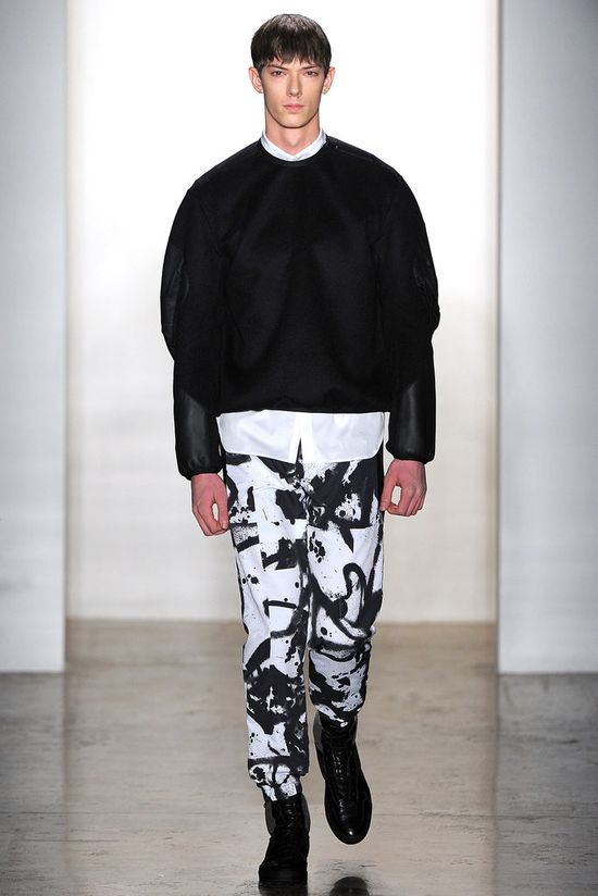 Tim Coppens Fall 2013 Menswear Collection Slideshow on Style.com