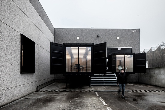 Office Design with Shipping Containers // Five AM