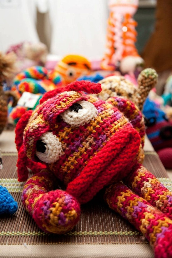 Crochet Monster.