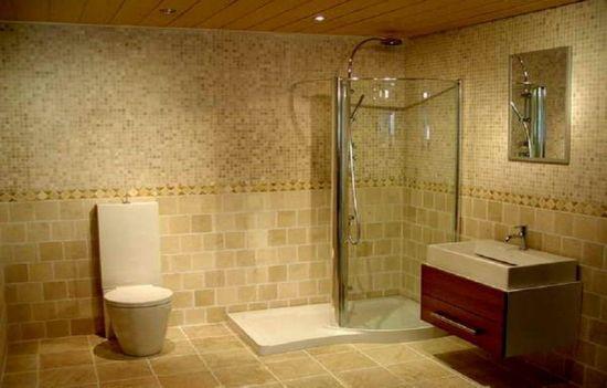 Tiled Bathroom Ideas For Relaxing: Bathroom Tile Design Idea With Shower ~ lanewstalk.com Bathrooms Ideas Inspiration