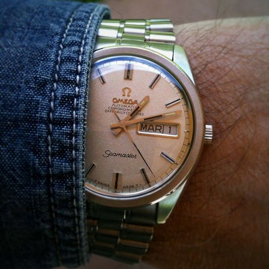 Omega Seamaster Chronometer Cal 751 - $5500