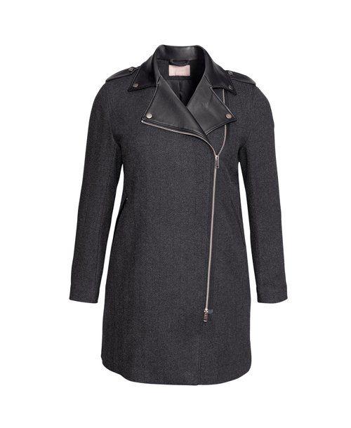 Menswear-Inspired Coat