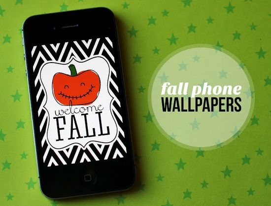 eighteen25: Free Fall Phone Wallpapers