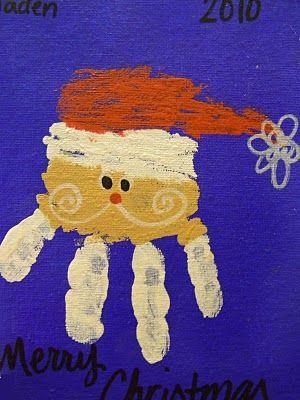 Handmade Christmas cards - LOVE