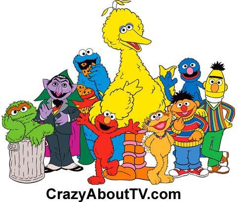 The Sesame Street TV show is a 60 minute kids cartoon series on PBS about the humans & puppets who live & play on an inner city street. Their interactions were typically orchestrated to teach lessons to pre-school children including the letters of the alphabet, numbers, ethics, dealing with emotions, and how to get along with other children and family members. Cartoons, film shorts, fun games and songs are used to make the lessons fun.