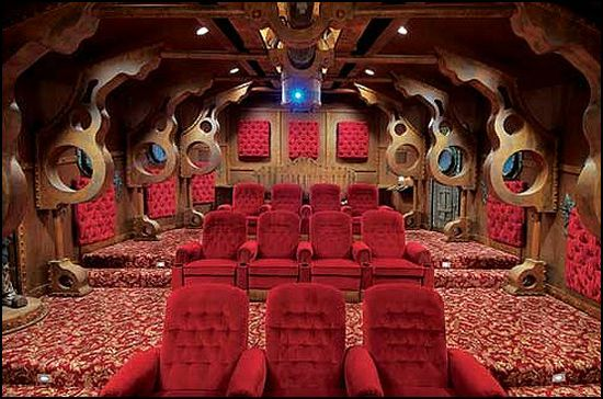 Steampunk Home Theater. Maries Manor: Steampunk decorating