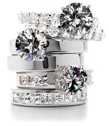 diamond rings....