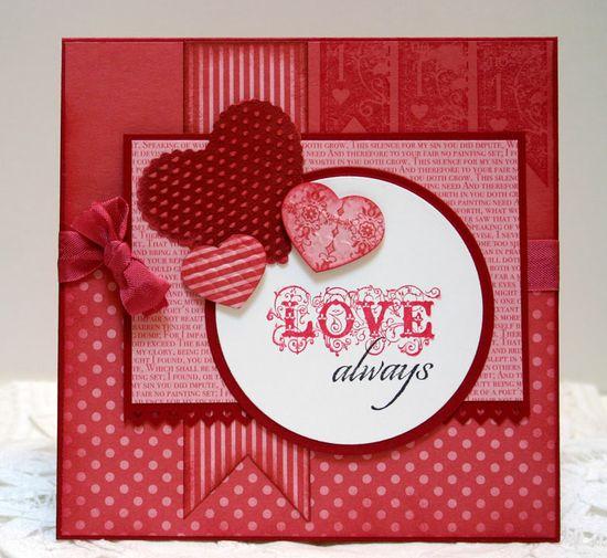 Love Always  Valentine card