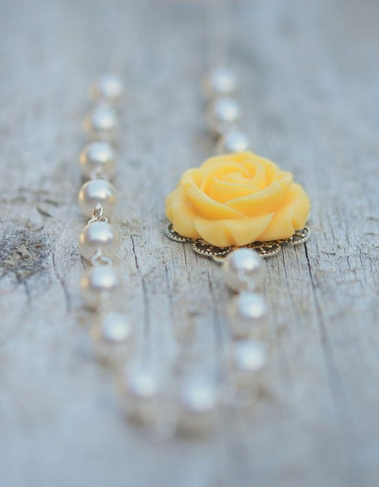 Yellow Rose by RusticGem,