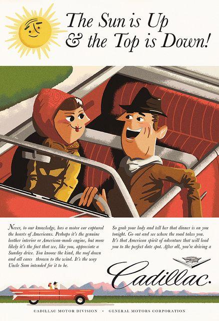 Interpretation of a classic Albert Dorne advertisement illustration for Illostribute.com