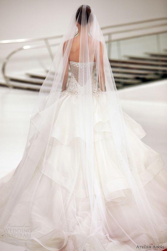 atelier aimee wedding dresses 2014 barbara strapless ball gown