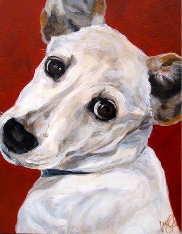 www.allibell.com - dogs. paint. art.