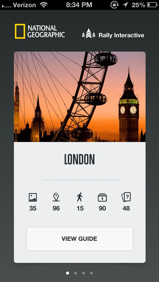 National Geographic Flat Design