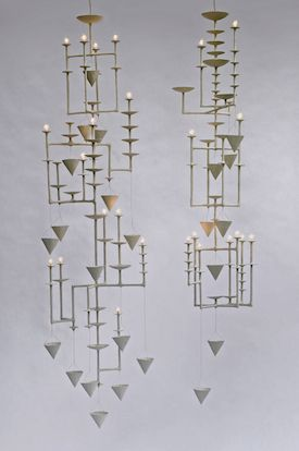 // Pae White, chandelier, 2009
