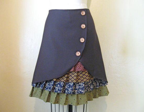 #ruffle #skirt